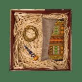 Kitenge Beige Gift Box