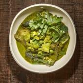 Curry Verde de Verduras con Quinoa