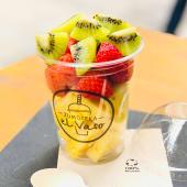 Piña, fresa y kiwi