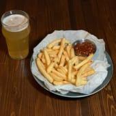 Картопля фрі з соусом BBQ (140/30г)