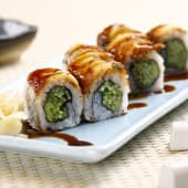 Dragon California Roll (6 Pcs)