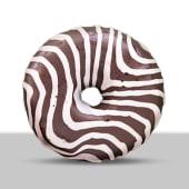 Donut zebrato