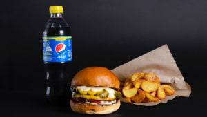 Zucchinni burger menu