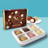 Surtido 6 sabores de helado Carte d'Or + 24 bombones helados Magnum