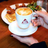 Cafe latte vainilla