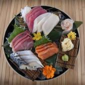 Sashimi moriawase take combinación (15 cortes)