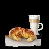 2 medialunas + café o jugo