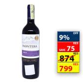 Frontera Merlot Red Wine 750Ml 11274