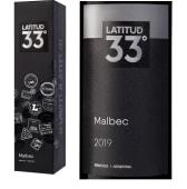 Vino Latitud 33° Malbec (750 ml.) Con Estuche