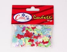 Confeti 14Gr Mariposas-Flores Pasteles Ref.050-0084