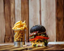 Meal Deal Black Angus Burger