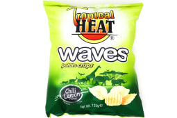 Tropical Heat Chilli Lemon Waves Crisps