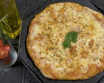2 Pizzas Individuais com 3 ingredientes à escolha!!!