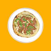 Піца з ростбіфом та корнішонами (500г)