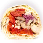 Шаурма з куркою гриль, овочами гриль і кремом з цвітної капусти (350г)