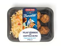 Pilaf sârbesc cu chiftele de pui (4 buc.)
