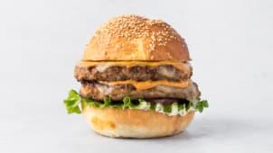 Чизбургер куриный Двойной 410 г.