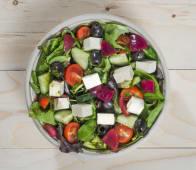 Greek bowl con cipolla rossa marinata al lampone(100% Gluten free & Vegan friendly)
