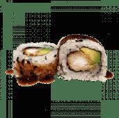 114. Uramaki California tempura (8 uds)