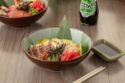 Чираши суши с угрем