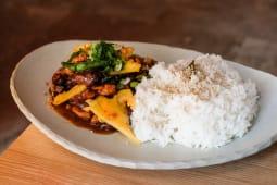 Sexta-Feira: China Town Bangkok - Stir-Fried Pork with Oyster Sauce