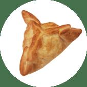 Empanada capresse con ajo
