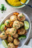 Jerk Chicken Meatballs