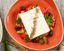 Salata  Peynirli salata