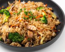 Fried Rice 100% Plant Based