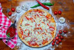 Pizza Quatro Stagioni medie