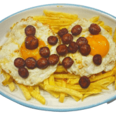 Huevos Con Chistorra