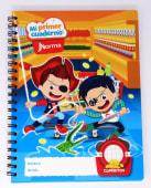 Cuaderno Espiral A4 100Hjs Cuadros Parvulario Economico Andaluz