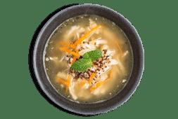 Canja de Galinha e Quinoa