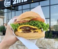 Бургер  Double cheeseburger (440г)