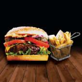 Promo hamburguessa classic american