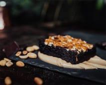 Brownie z Masłem Orzechowym