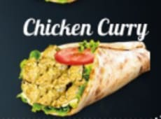 Cheese Nan Chiken Curry