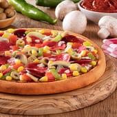 Zengin Karışık Pizza (Büyük)