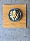 Insalata di patate, tonno, prezzemolo olive taggiasche