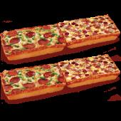 2 Adet 4 Boyutlu Pizza (Uzun)