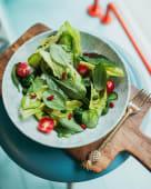 Великий зелений салат зі свіжими овочами (280г)