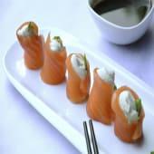 Geishas salmón x5