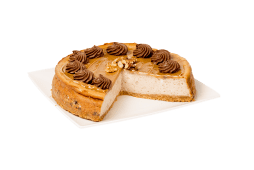 Cheesecake nueces y dulce de leche (porción)