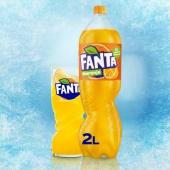 Fanta Naranja Botella 2 L.