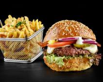 American burger meniu