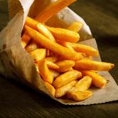 Patatas fritas caseras (ración grande)