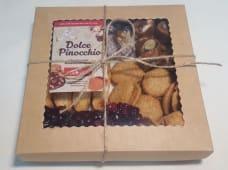 Асорті «Dolce Pinocchio» в подарунковій крафтового коробочці (450г)