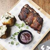 Pork Ribs свинячі реберця, мариновані в имбирно-медовому соусі (350г)*