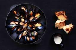 Мідії в вершковому соусі (250г)