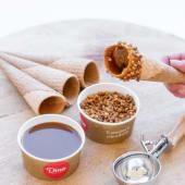 Galletas (4 uds.) + dulce de leche + nueces de macadamia